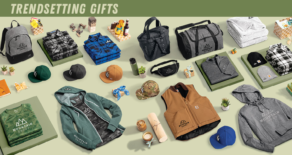 Gift Guide Trendsetting Section
