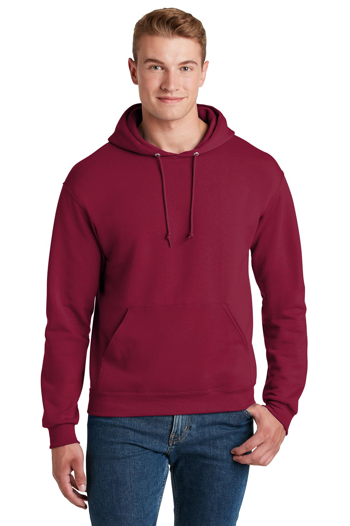 50//50 NuBlend Fleece Pullover Hood Jerzees Youth 8 oz. 996Y ATHLETIC HEATHER