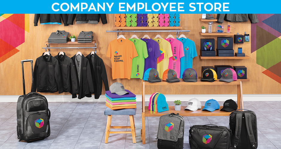 Retail Merch Company Employee Store Graphic