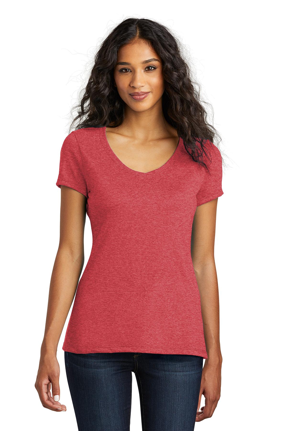 418eab615861 District ® Women's Perfect Tri ® V-Neck Tee | Ring Spun | T-Shirts ...