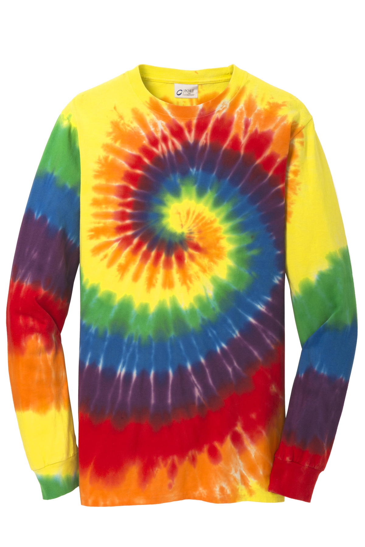 50 50 Outlet >> Port & Company® Tie-Dye Long Sleeve Tee | Specialty | T ...