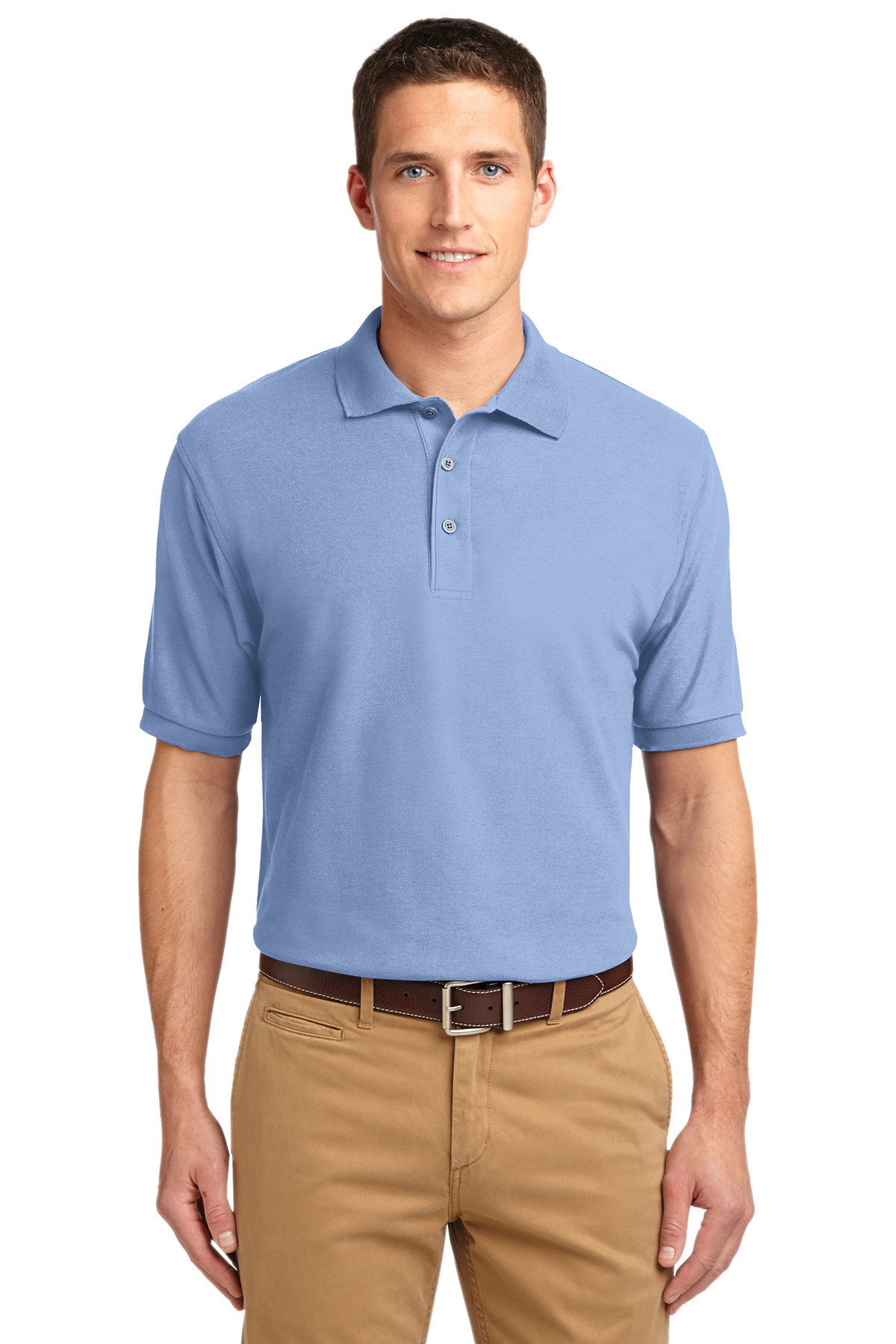 9d3536786464 Port Authority® Extended Size Silk Touch™ Polo