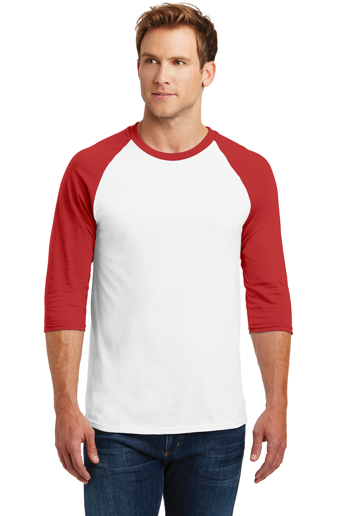 Gildan® Heavy Cotton™ 3 4-Sleeve Raglan T-Shirt  a81961cb4