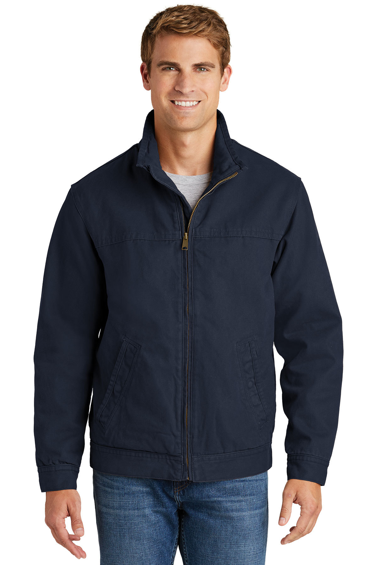 3165c67a34b CornerStone® Washed Duck Cloth Flannel-Lined Work Jacket