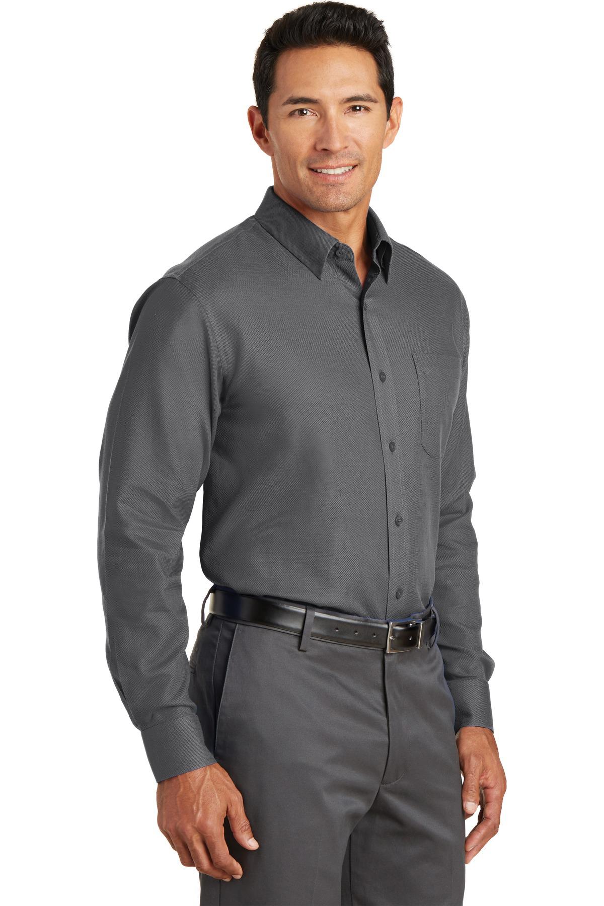 e3b000c8 Red House® Non-Iron Diamond Dobby Shirt   Easy Care   Woven ...