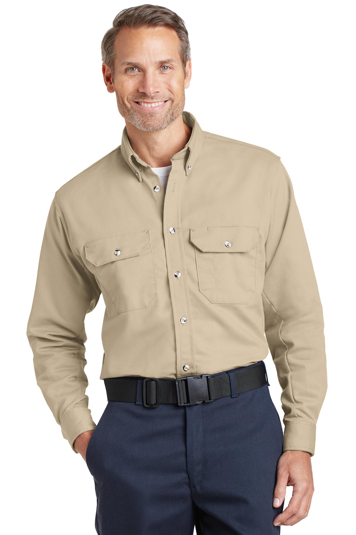 ca0e6b9694e Bulwark® EXCEL FR® ComforTouch® Dress Uniform Shirt