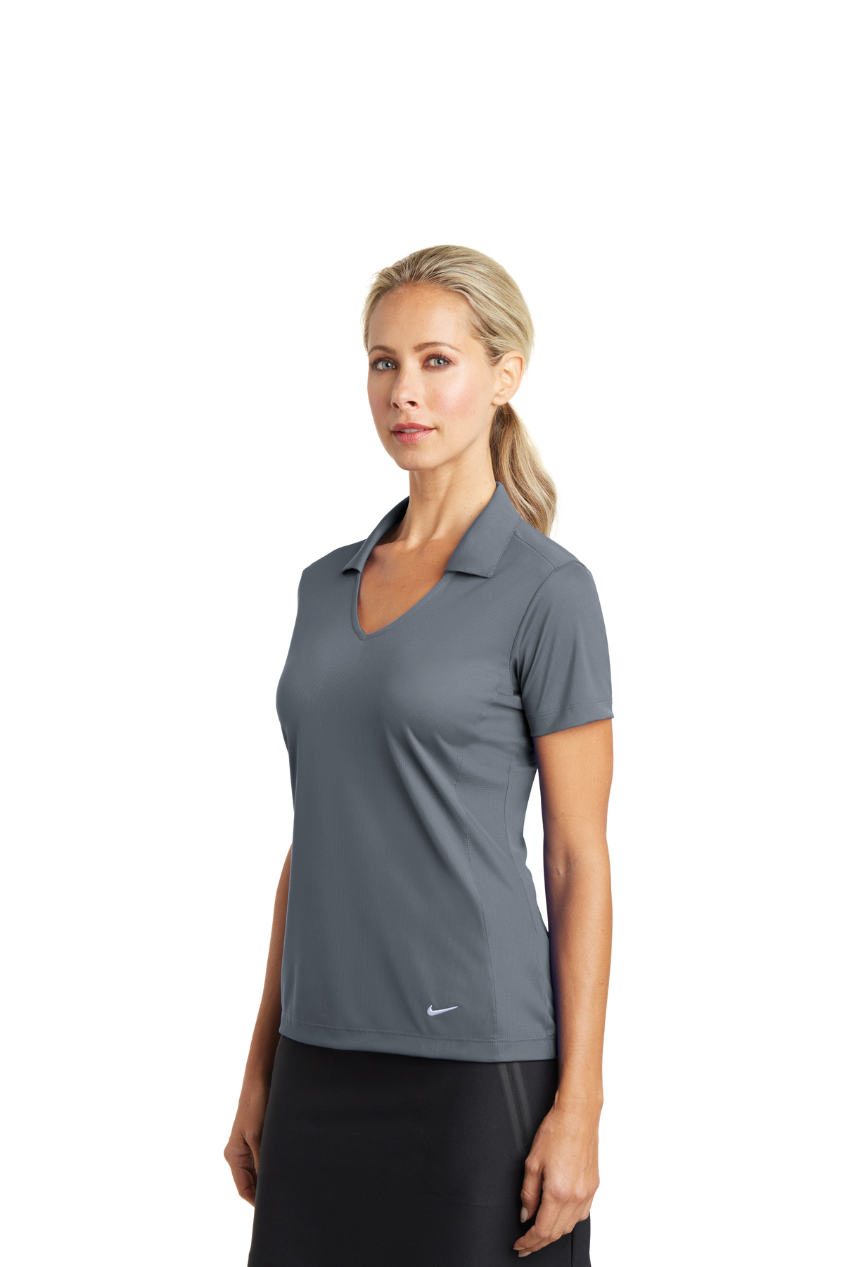 f6ba0693f ... Nike Ladies Dri-FIT Vertical Mesh Polo. A maximum of 8 logos have been  uploaded. Please remove a logo from My Logos to continue