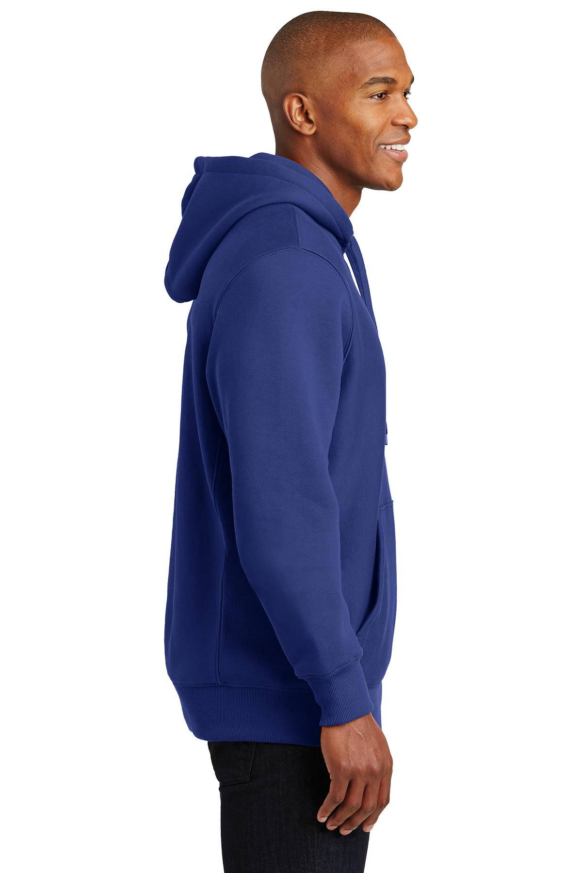 F281 FREE SHIPPING! Sport-Tek Men/'s Heavyweight Pullover Hooded Sweatshirt