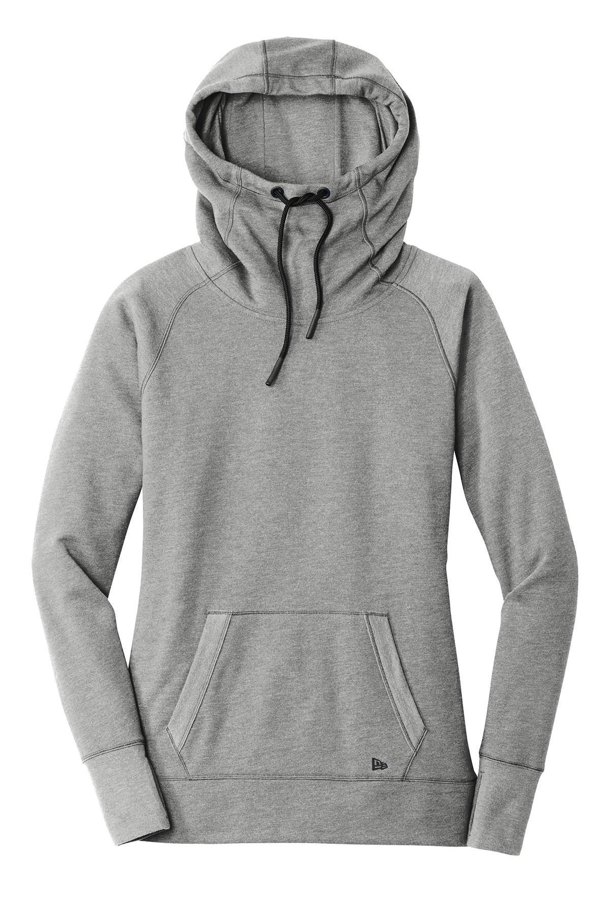 NEW** LNEA510 New Era® Ladies Tri-Blend Fleece Pullover Hoodie