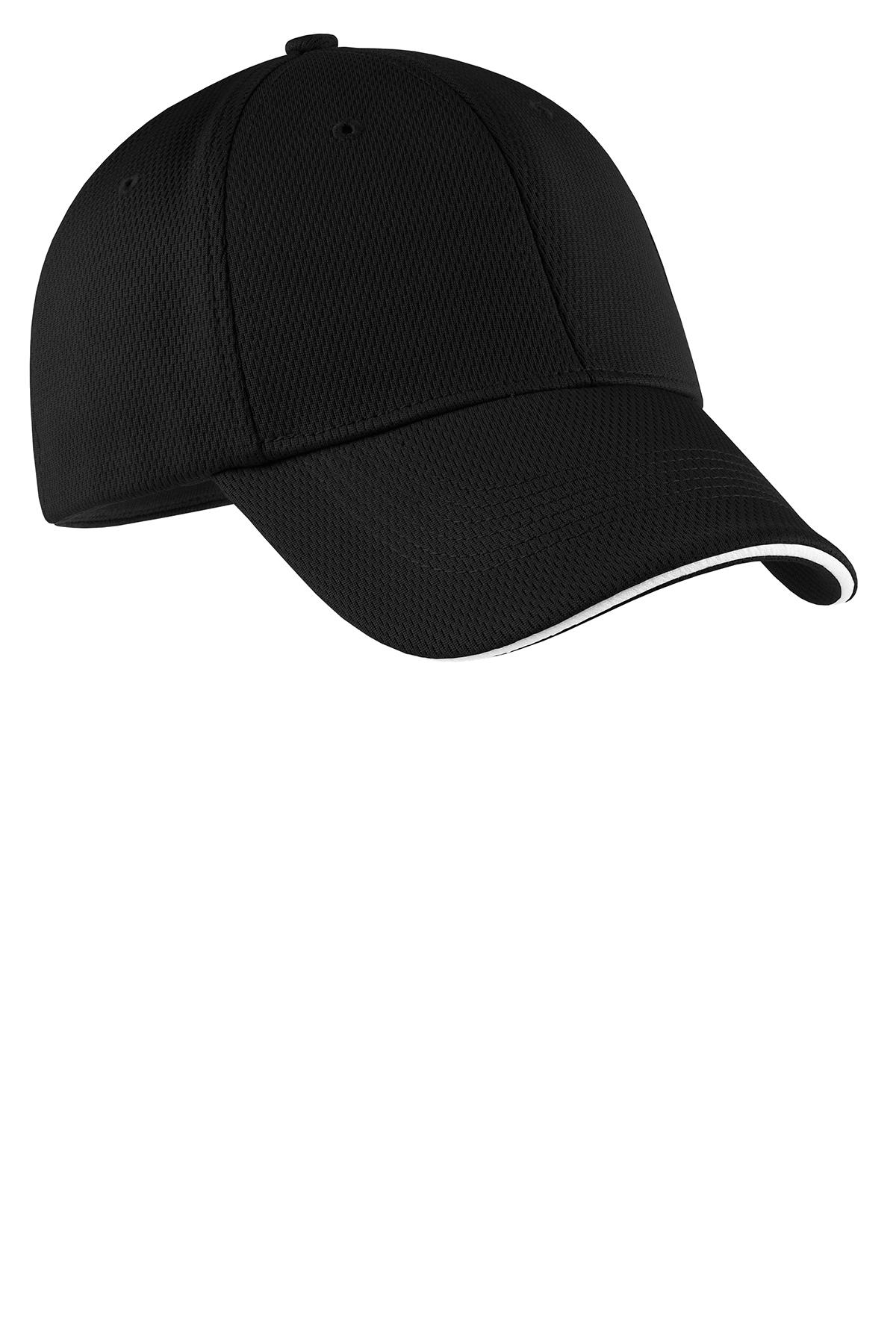 5ba54dce7d1 Nike Dri-FIT Mesh Swoosh Flex Sandwich Cap. Brand Logo