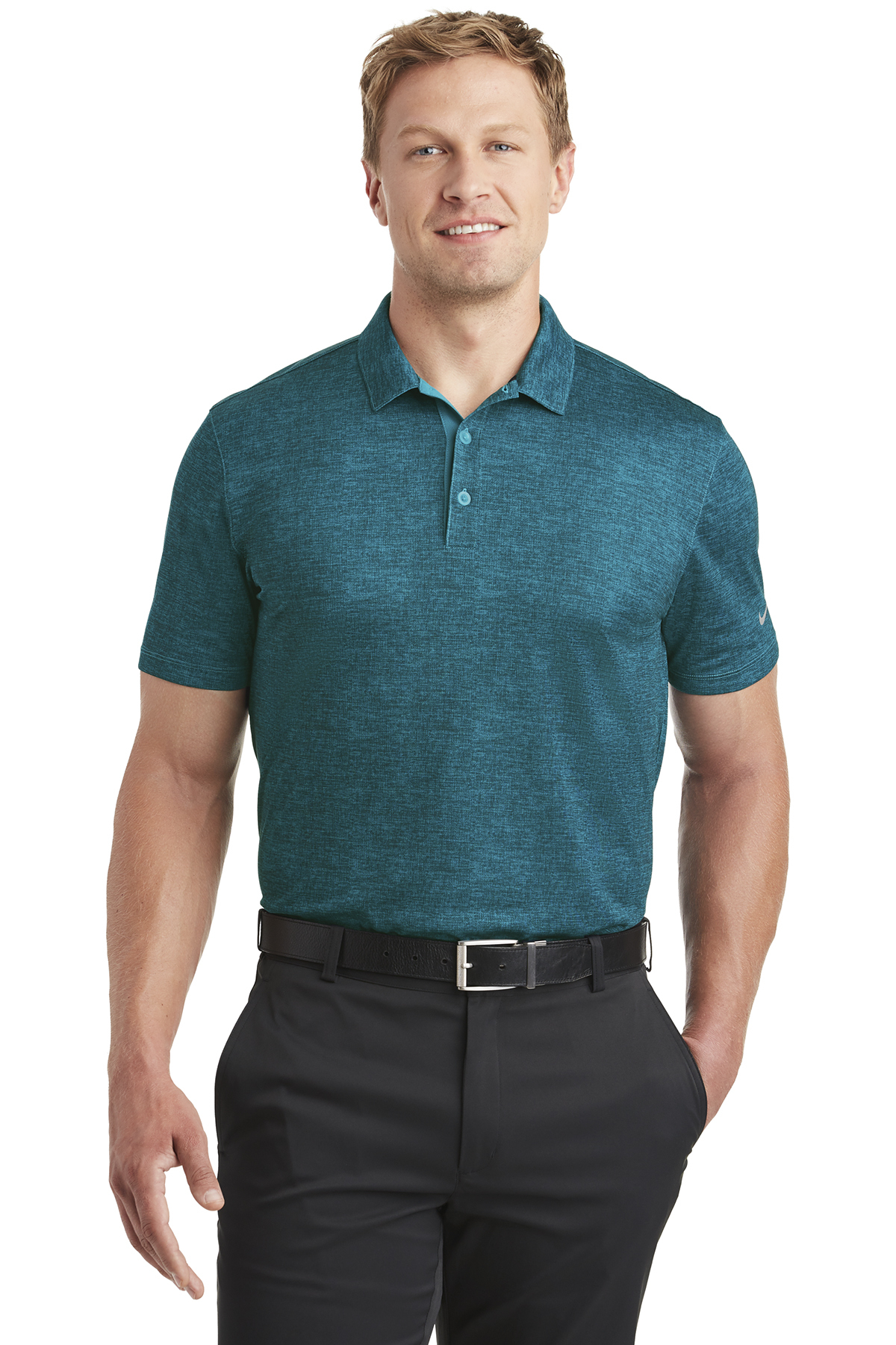 Nike Dri Fit Crosshatch Polo Performance Polosknits Sanmar