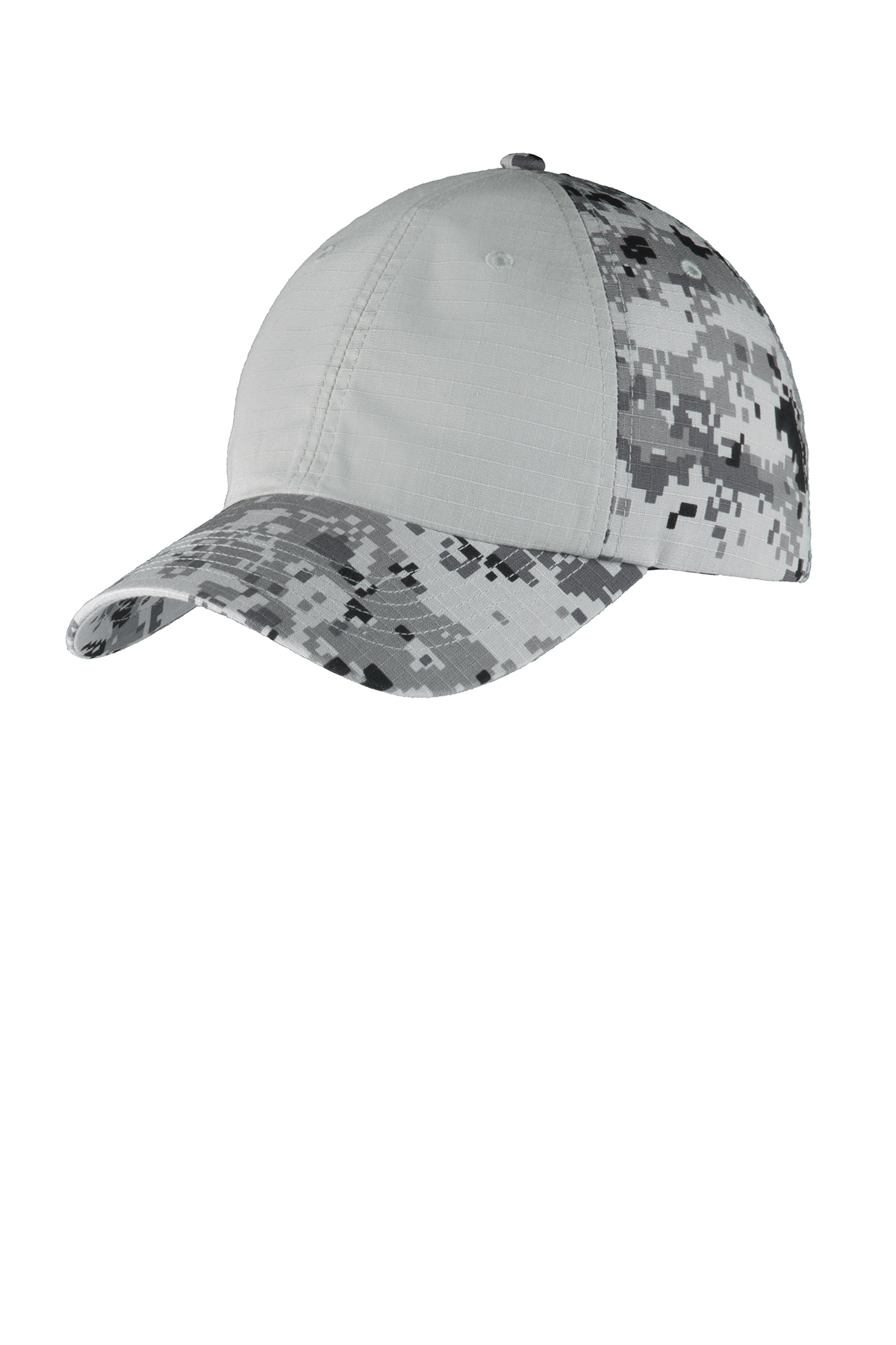 Port Authority?C926 Colorblock Digital Ripstop Camouflage Cap