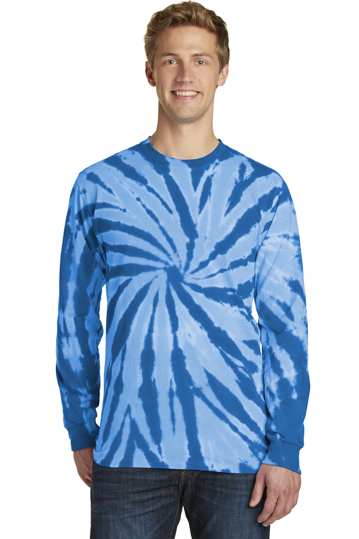 9d04d12476f Port   Company® Tie-Dye Long Sleeve Tee