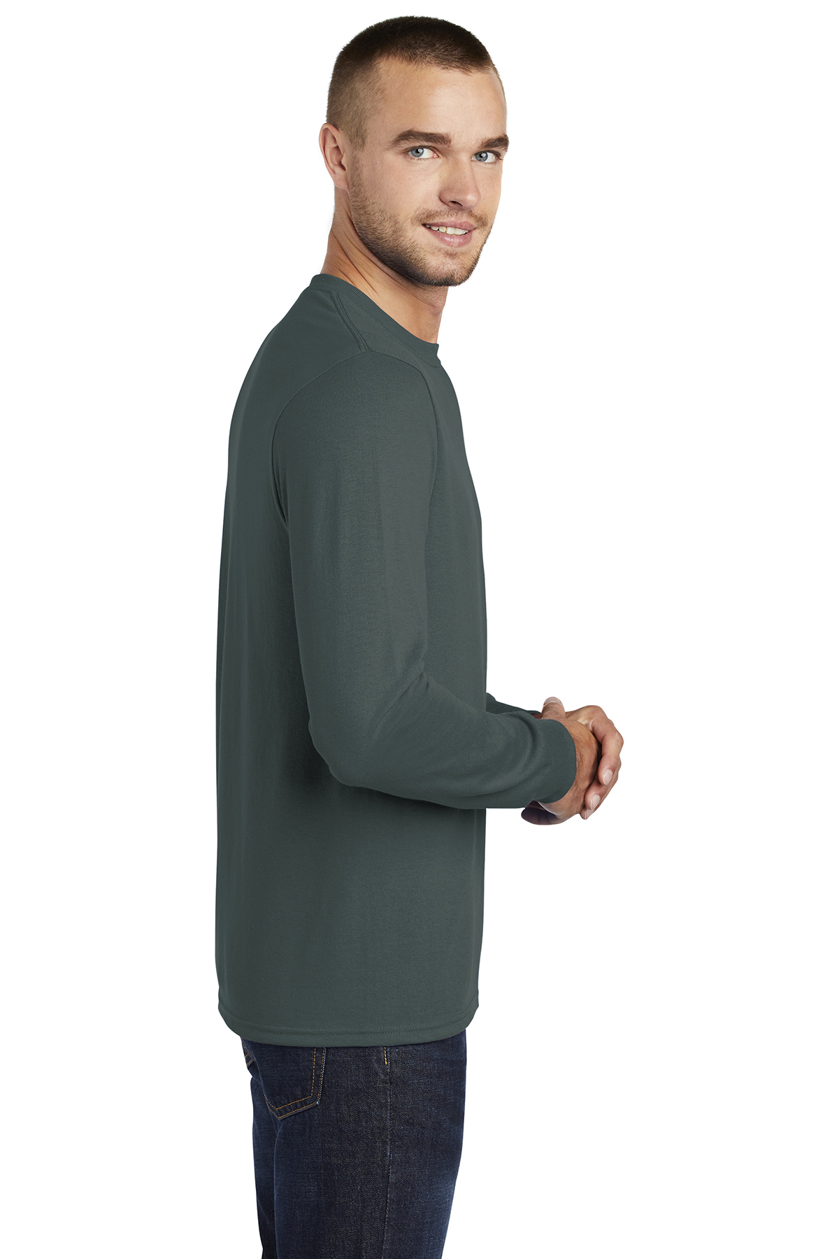 cd7f20b1dc28 ... Port & Company® Tall Long Sleeve Core Blend Tee. A maximum of 8 logos  have been uploaded. Please remove a logo from My Logos to continue