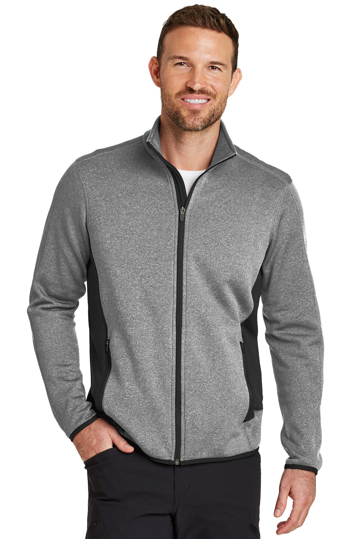 6084c3abf9da Eddie Bauer® Full-Zip Heather Stretch Fleece Jacket | Polyester ...