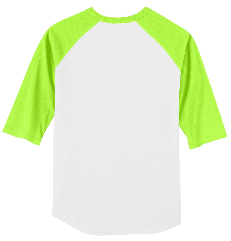 Sport-Tek Youth Colorblock Raglan Jersey