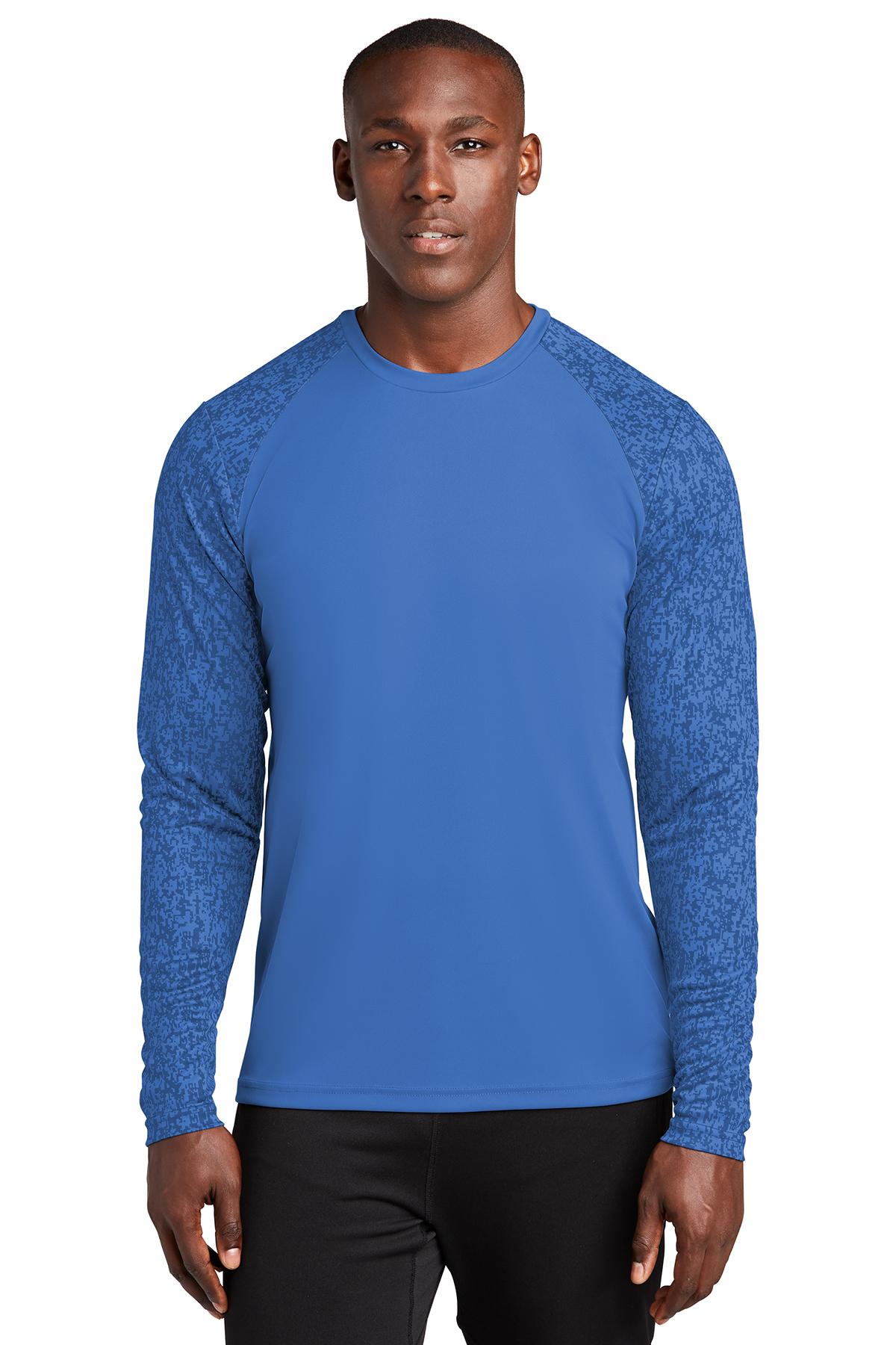 Sport Tek Long Sleeve Digi Camo Tee Performance T Shirts Sport Tek — choose a quantity of sport tek long sleeve. sport tek long sleeve digi camo tee performance t shirts sport tek