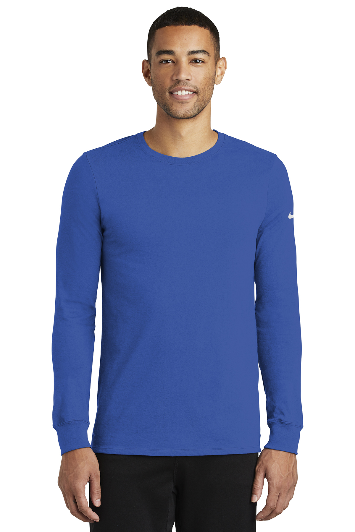0aea08926 Nike Dri-FIT Cotton/Poly Long Sleeve Tee | Performance | T-Shirts ...