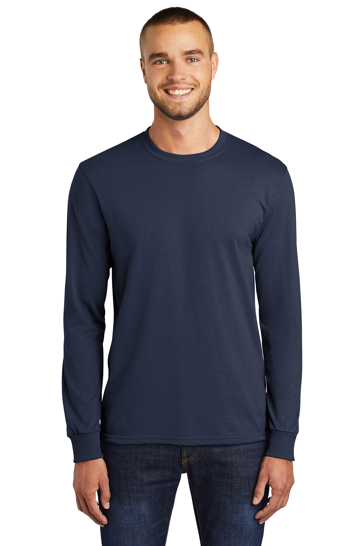 0afed47603a9 Port & Company® Tall Long Sleeve Core Blend Tee | Tall | T-Shirts ...