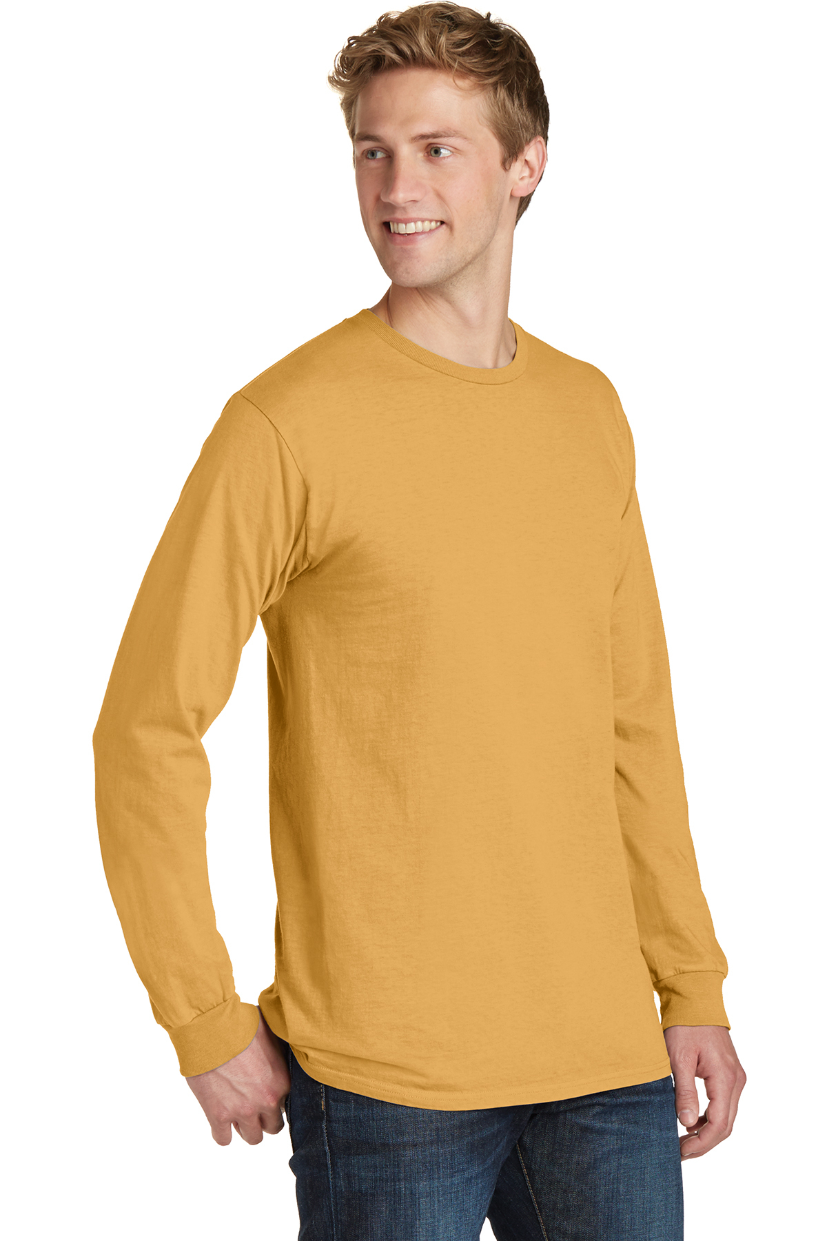 Port /& Company Pigment-Dyed Long Sleeve Tee-PC099LS-4XL