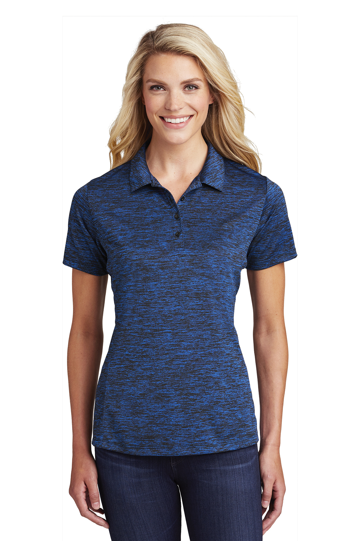 Sport Tek Ladies Posicharge Electric Heather Polo Ladies Women Polos Knits Sport Tek All styles and colors available in the official adidas online store. sport tek ladies posicharge electric