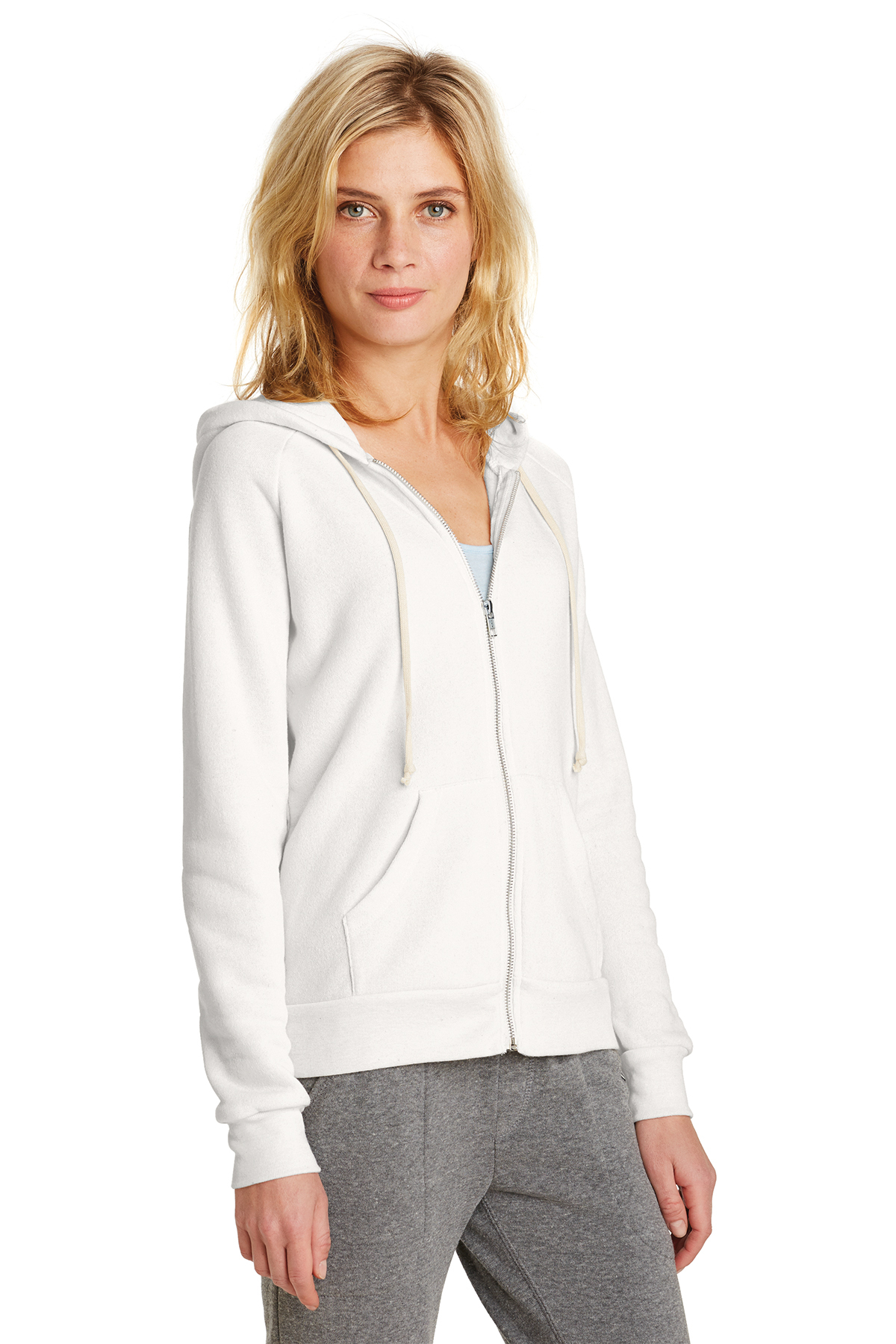 S Alternative Femme Eco-Polaire Adrian Full-Zip Sweat-shirt 9573-ECO noir M L
