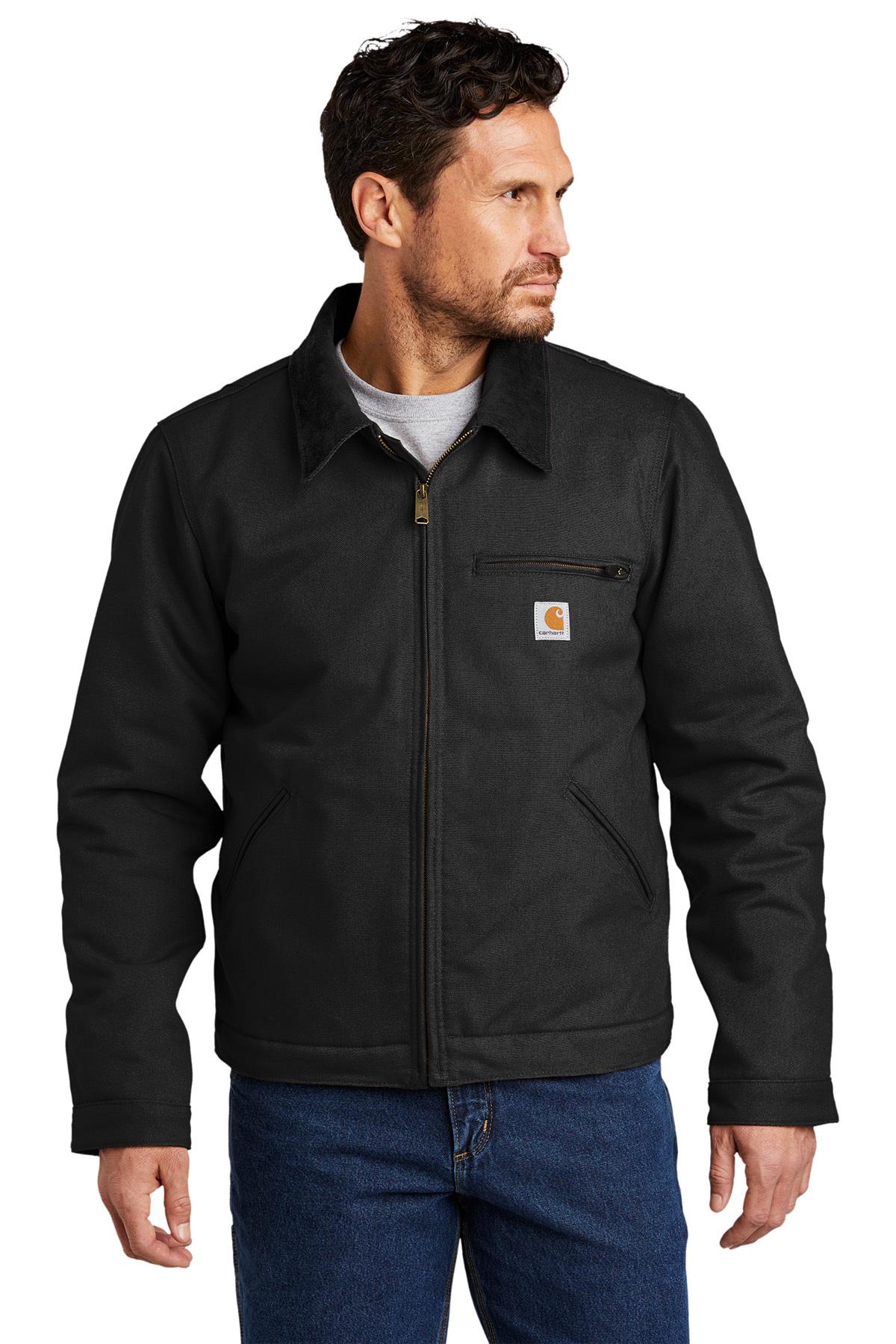 Carhartt Duck Detroit Jacket Insulated Jackets Outerwear Sanmar [ 1800 x 1200 Pixel ]
