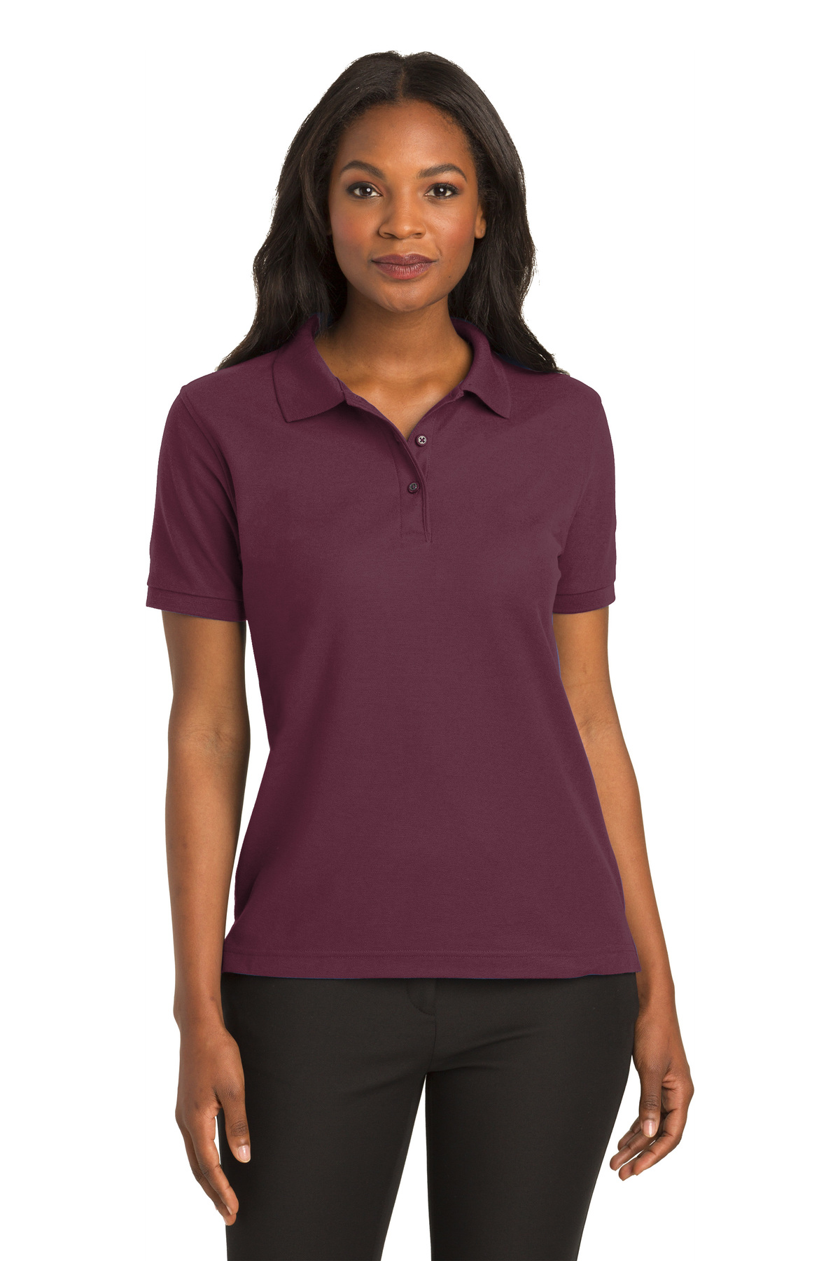 Port Authority Silk Touch Polo K500 Bright Lavender