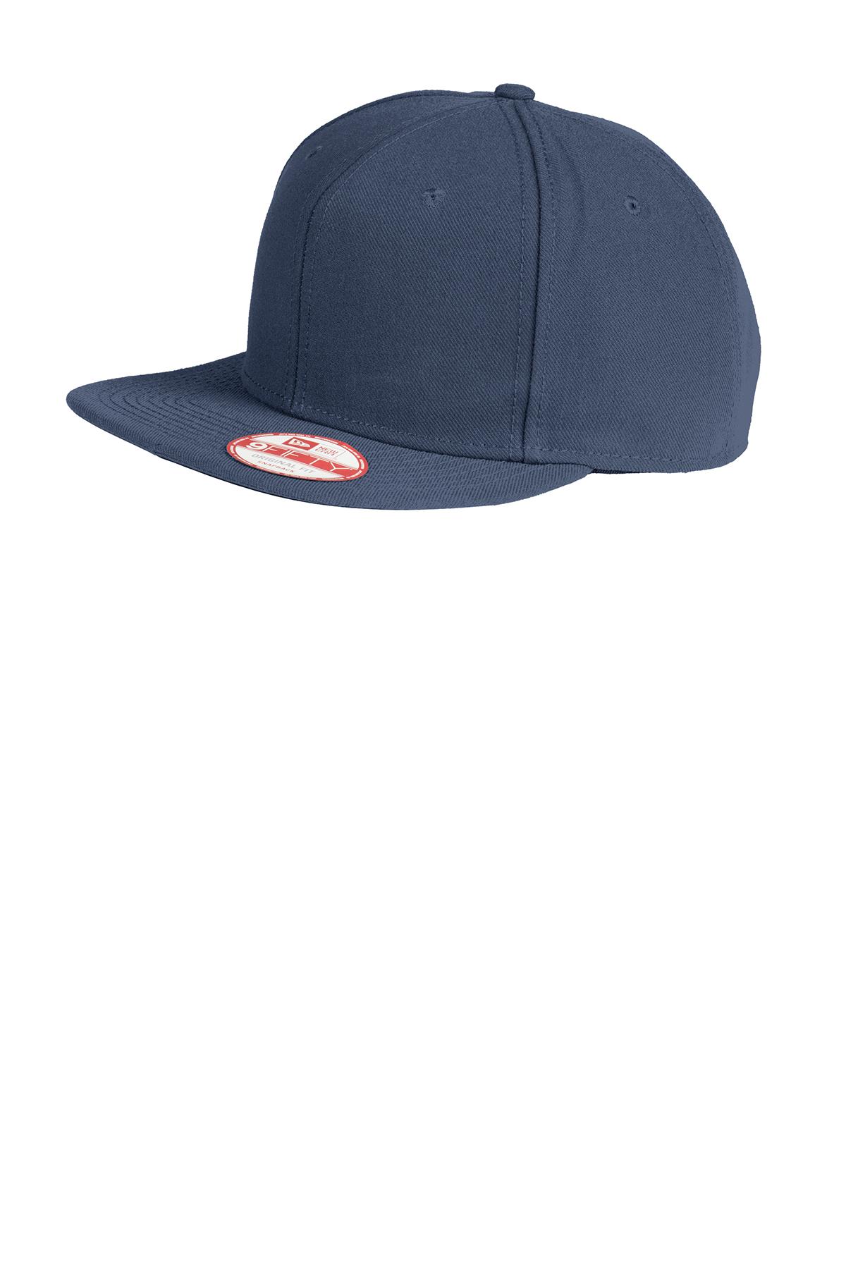 b1a95feafb151 New Era® Original Fit Flat Bill Snapback Cap
