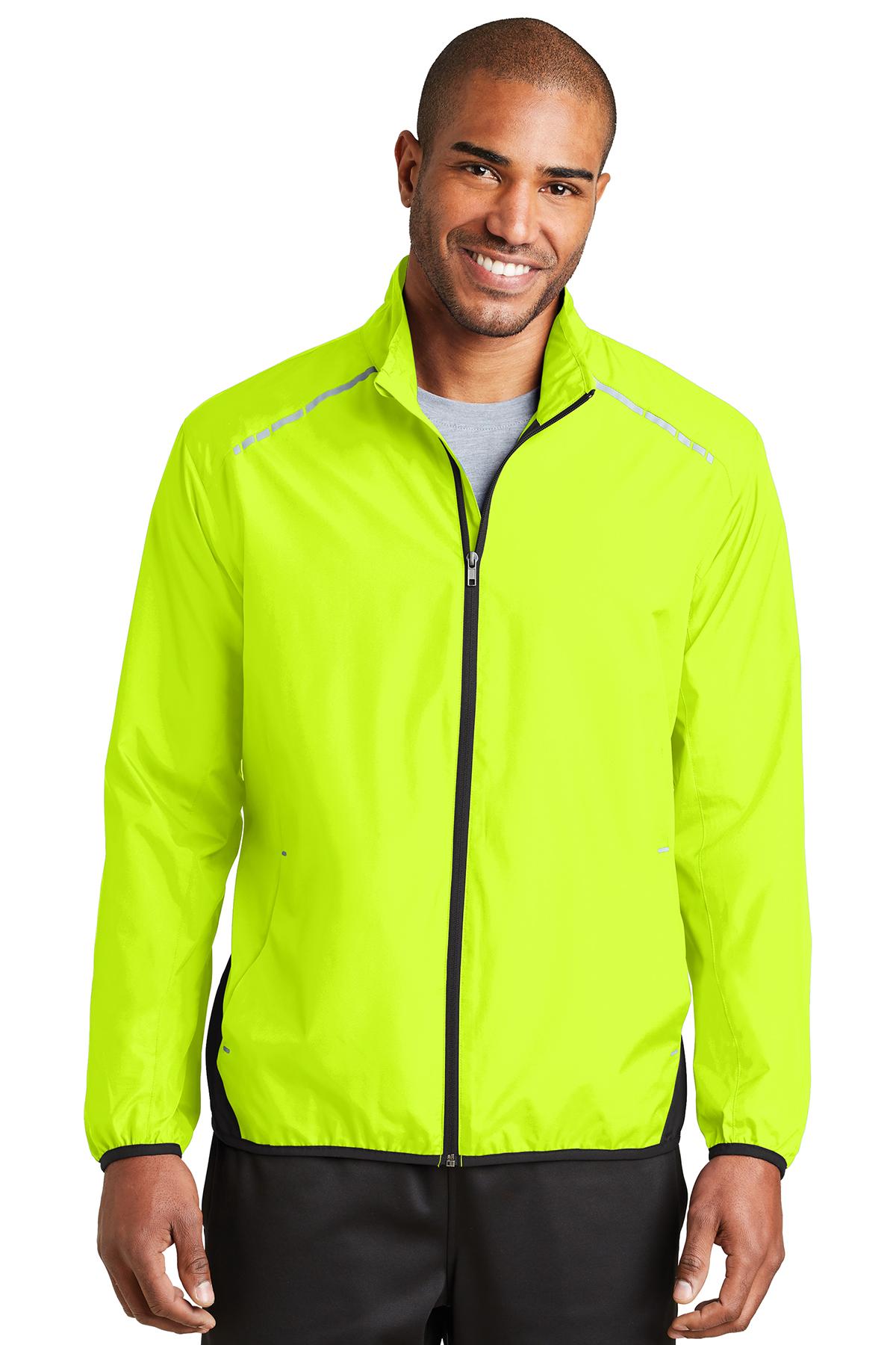 be80dd6b4838 Port Authority® Zephyr Reflective Hit Full-Zip Jacket