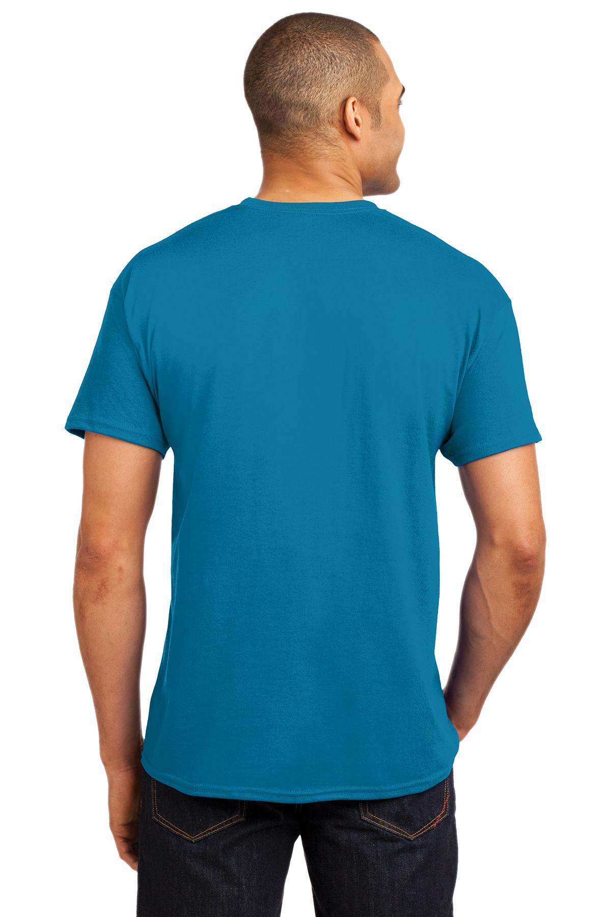 Brand New 2XL NWT NASA T Shirt Mens XXL Hanes 50 50 Dark Gray Blue Red