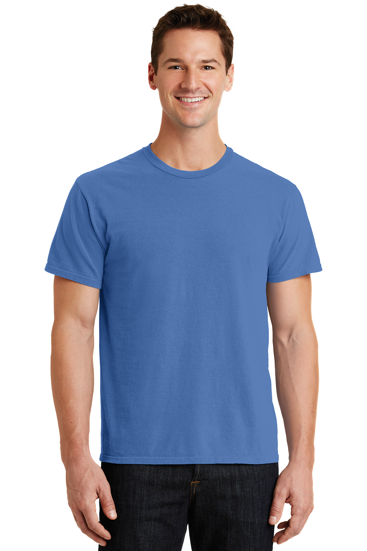 Port Company Pigment Dyed Tee 100 Cotton T Shirts Sanmar