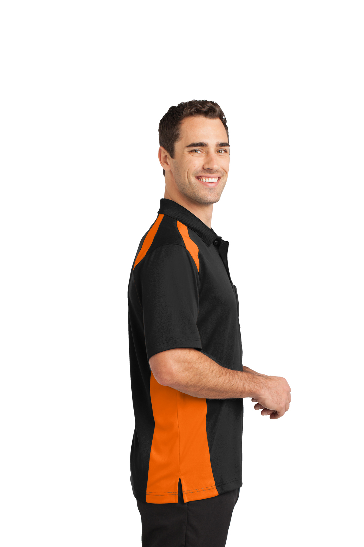 33a99ce2 ... CornerStone® Select Snag-Proof Two Way Colorblock Pocket Polo. A  maximum of 8 logos have been uploaded. Please remove a logo from My Logos  to continue
