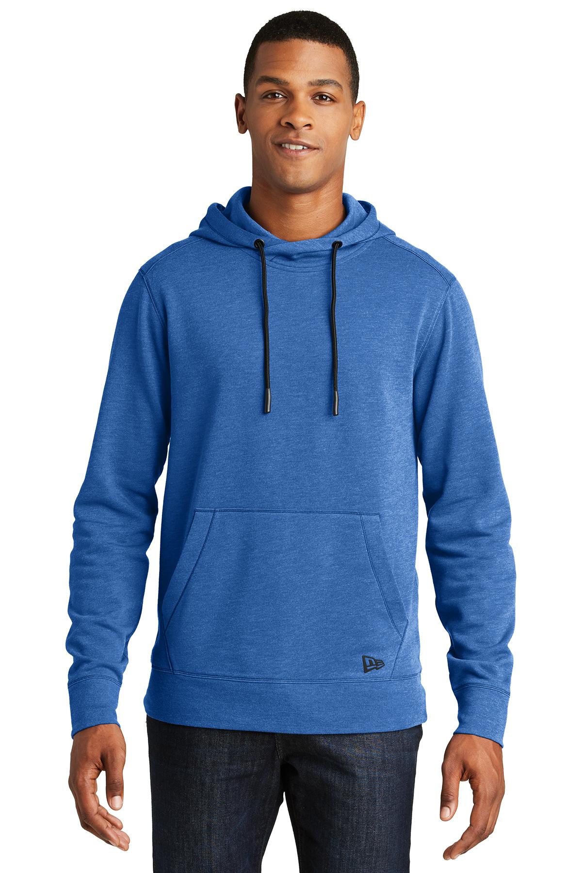 new era tri blend fleece pullover hoodie hoodie. Black Bedroom Furniture Sets. Home Design Ideas