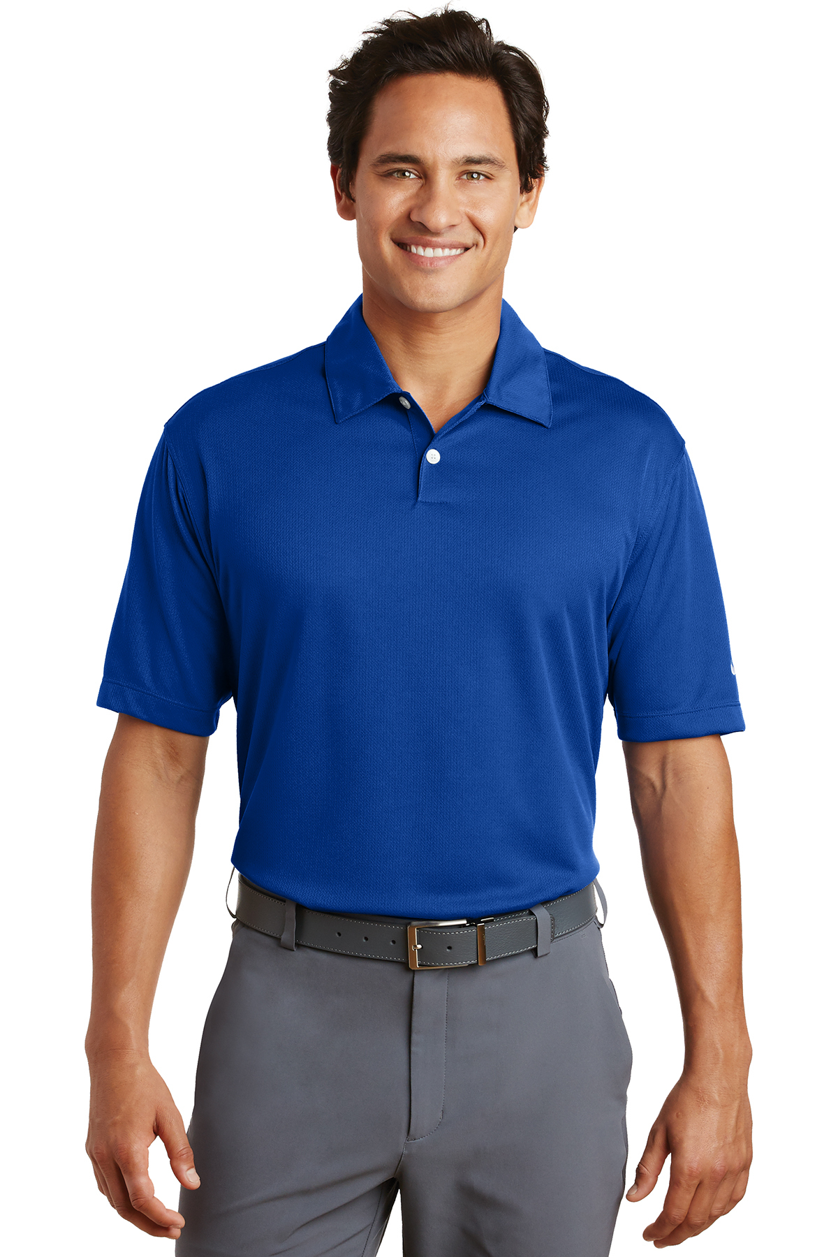 Nike Golf - Dri-FIT Pebble Texture Polo. 373749