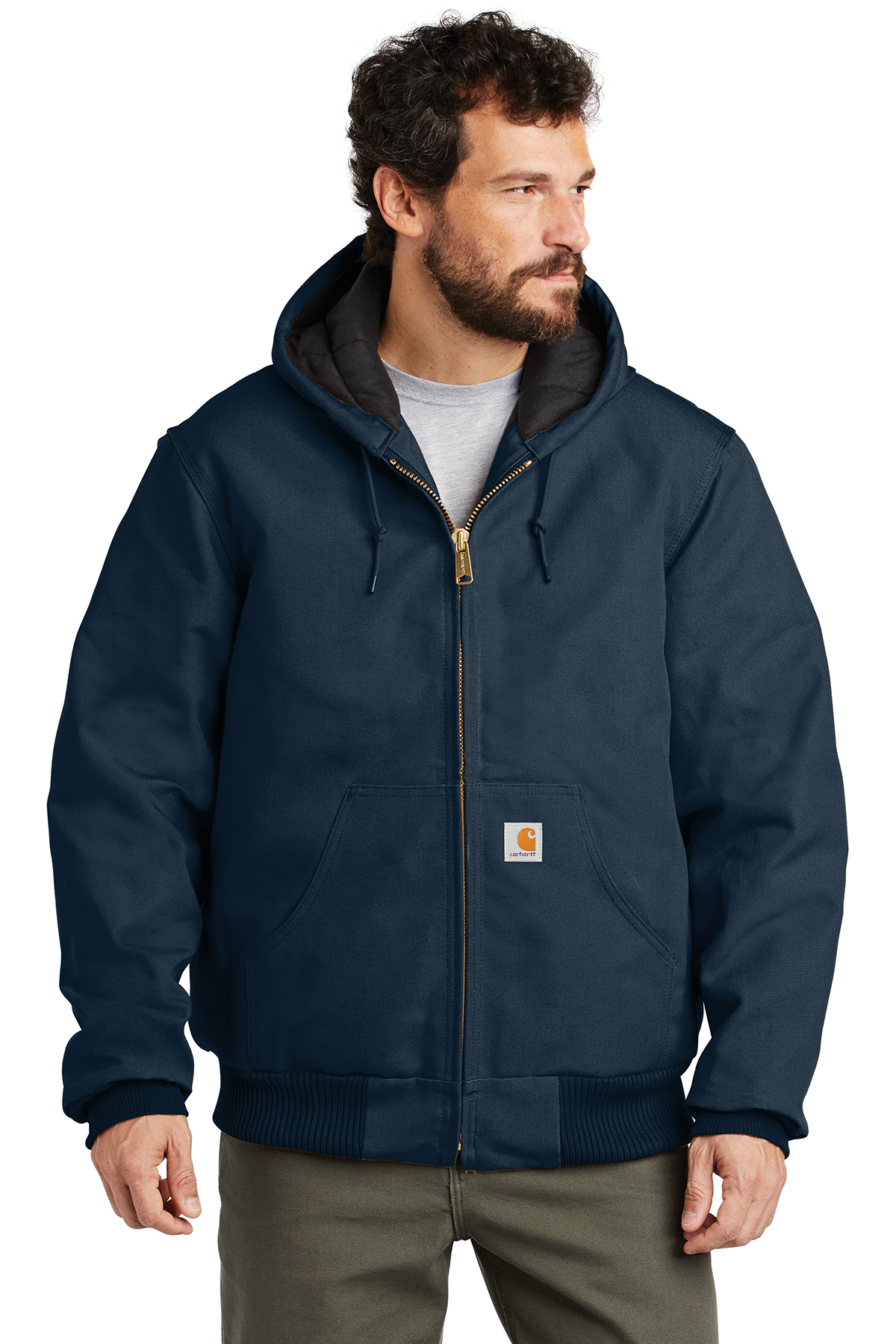 3c01494a97 Carhartt ® Quilted-Flannel-Lined Duck Active Jac | Work Jackets ...