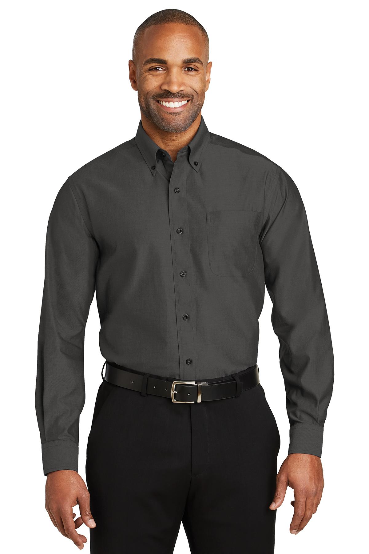 cc09e8e8f4d Red House® Tall Non-Iron Pinpoint Oxford Shirt