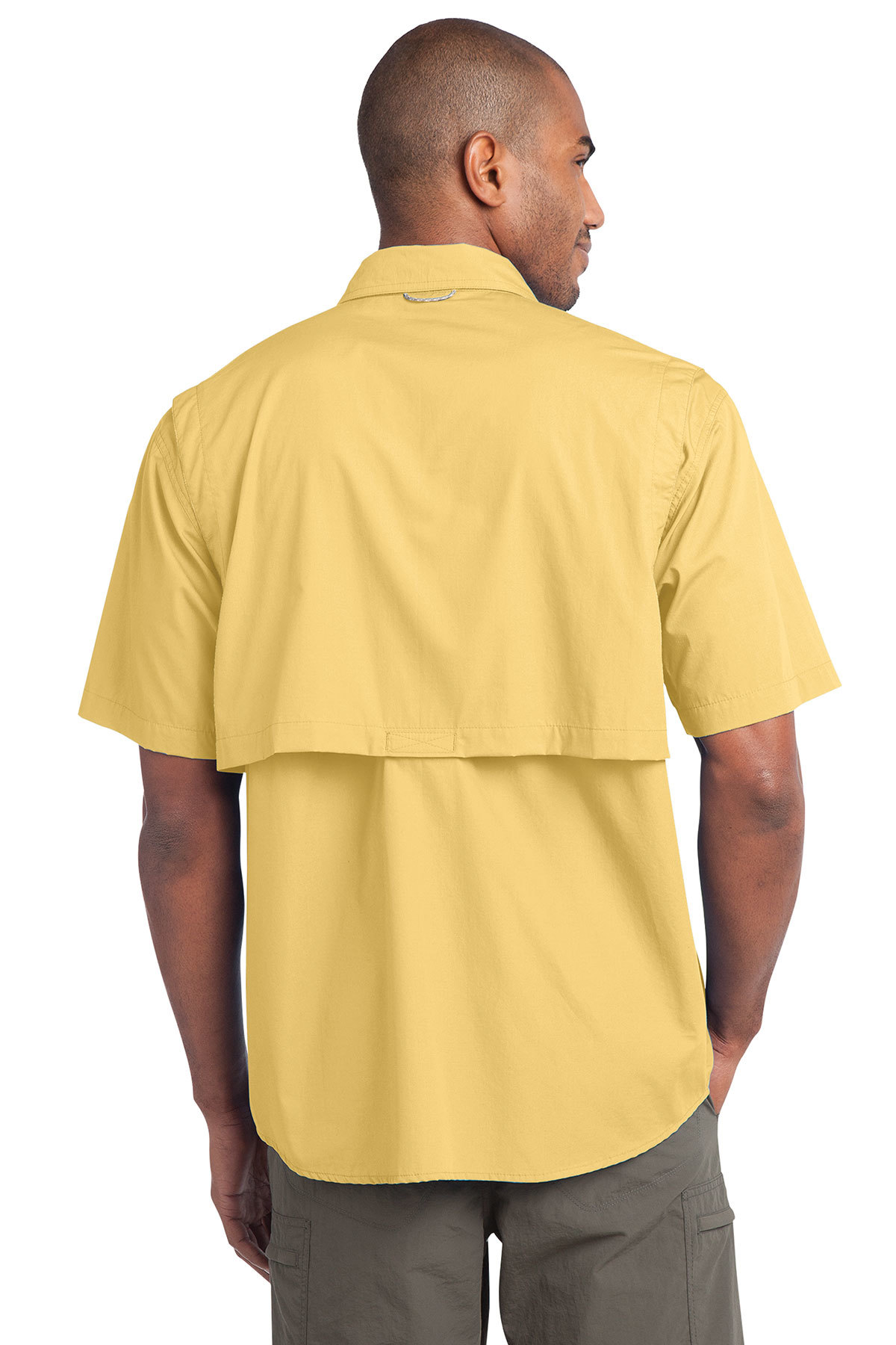 Ed Bauer Short Sleeve Fishing Shirt Fishing