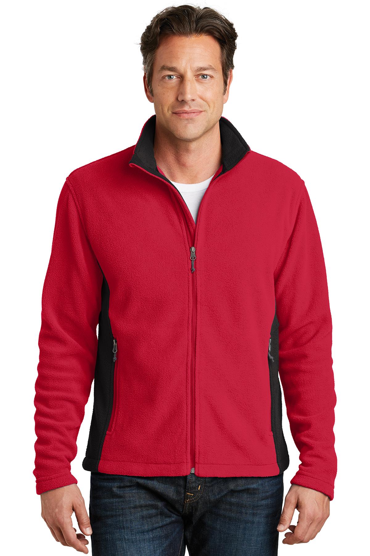 dc4c2a4464e8 Port Authority® Colorblock Value Fleece Jacket