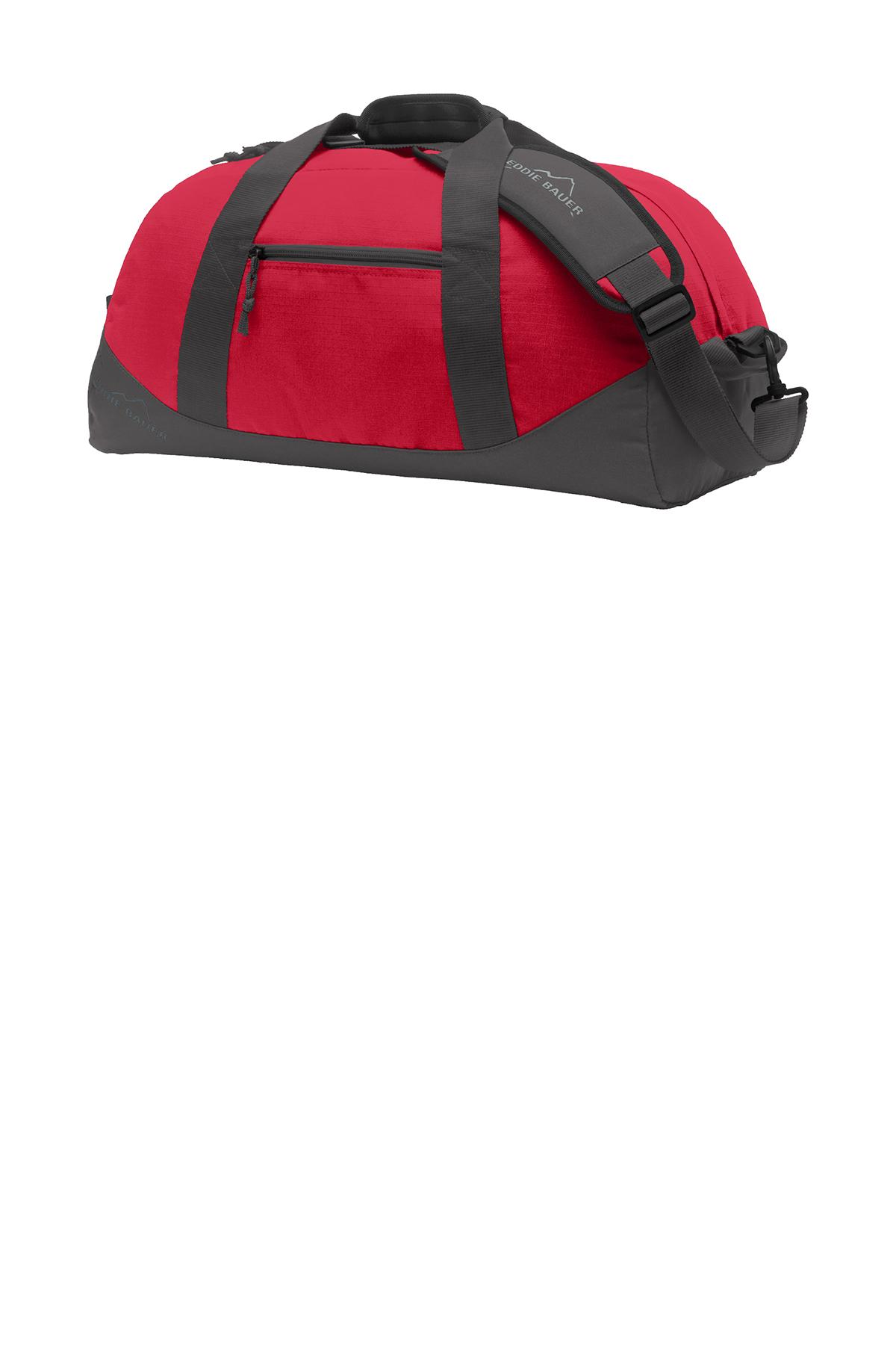 Eddie Bauer® Medium Ripstop Duffel | Duffels | Bags | SanMar