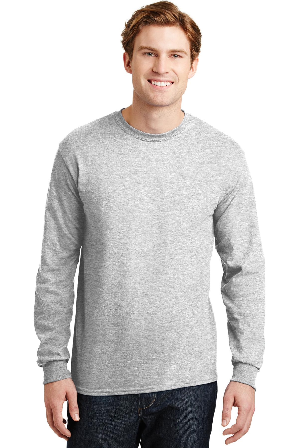 8829ad77a83 Gildan® - DryBlend® 50 Cotton/50 Poly Long Sleeve T-Shirt | 50/50 ...