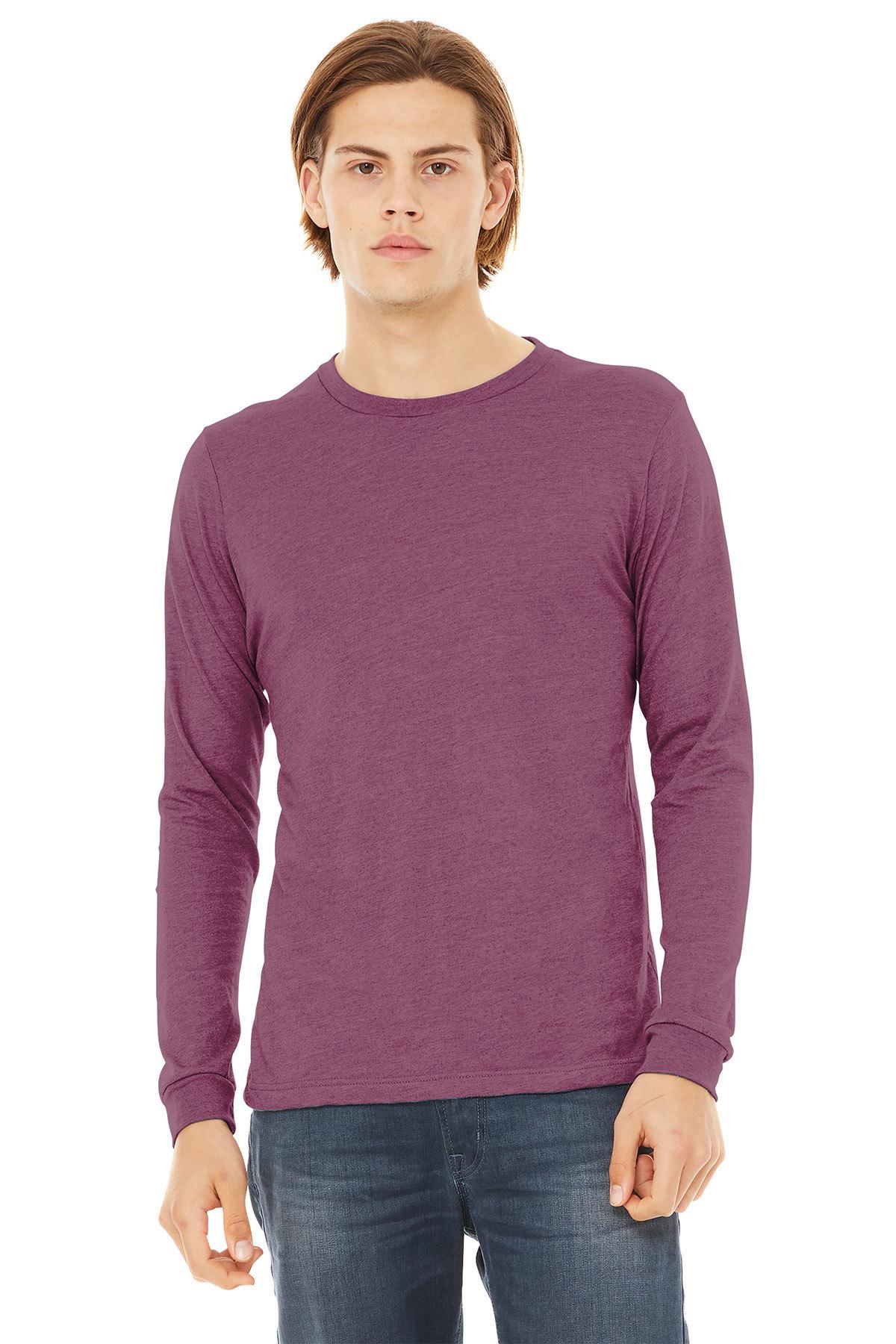 9f3c3539cb40e BELLA+CANVAS ® Unisex Jersey Long Sleeve Tee   Long Sleeve   T ...