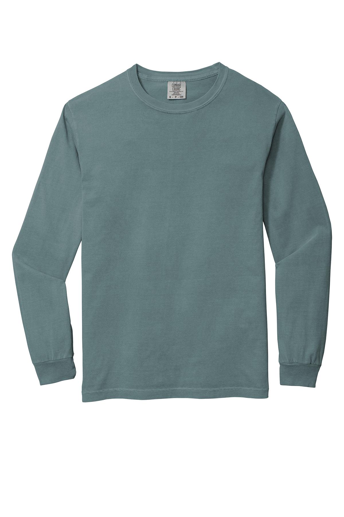 Comfort Colors ® Heavyweight Ring Spun Long Sleeve Tee | Comfort