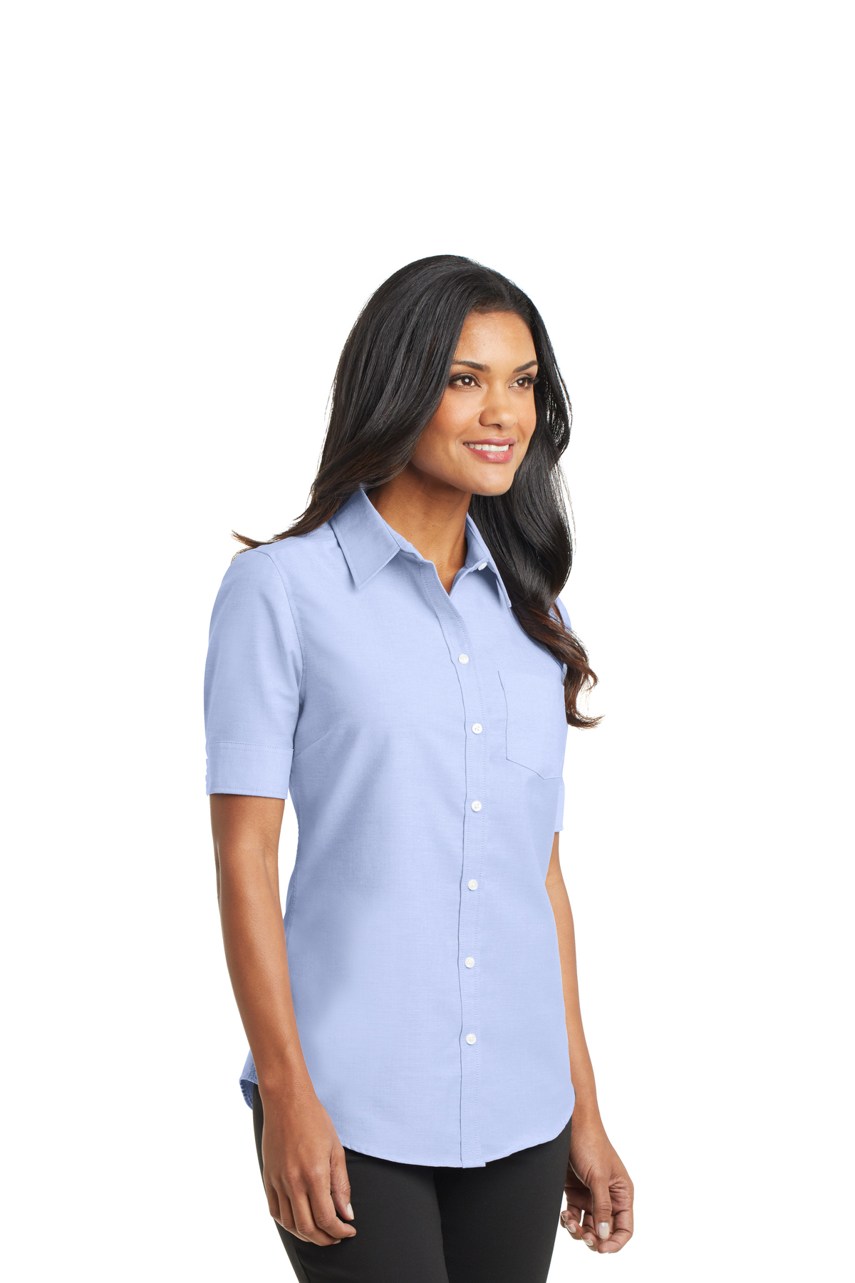 a3129151b ... Port Authority® Ladies Short Sleeve SuperPro™ Oxford Shirt. A maximum of  8 logos have been uploaded. Please remove a logo from My Logos to continue
