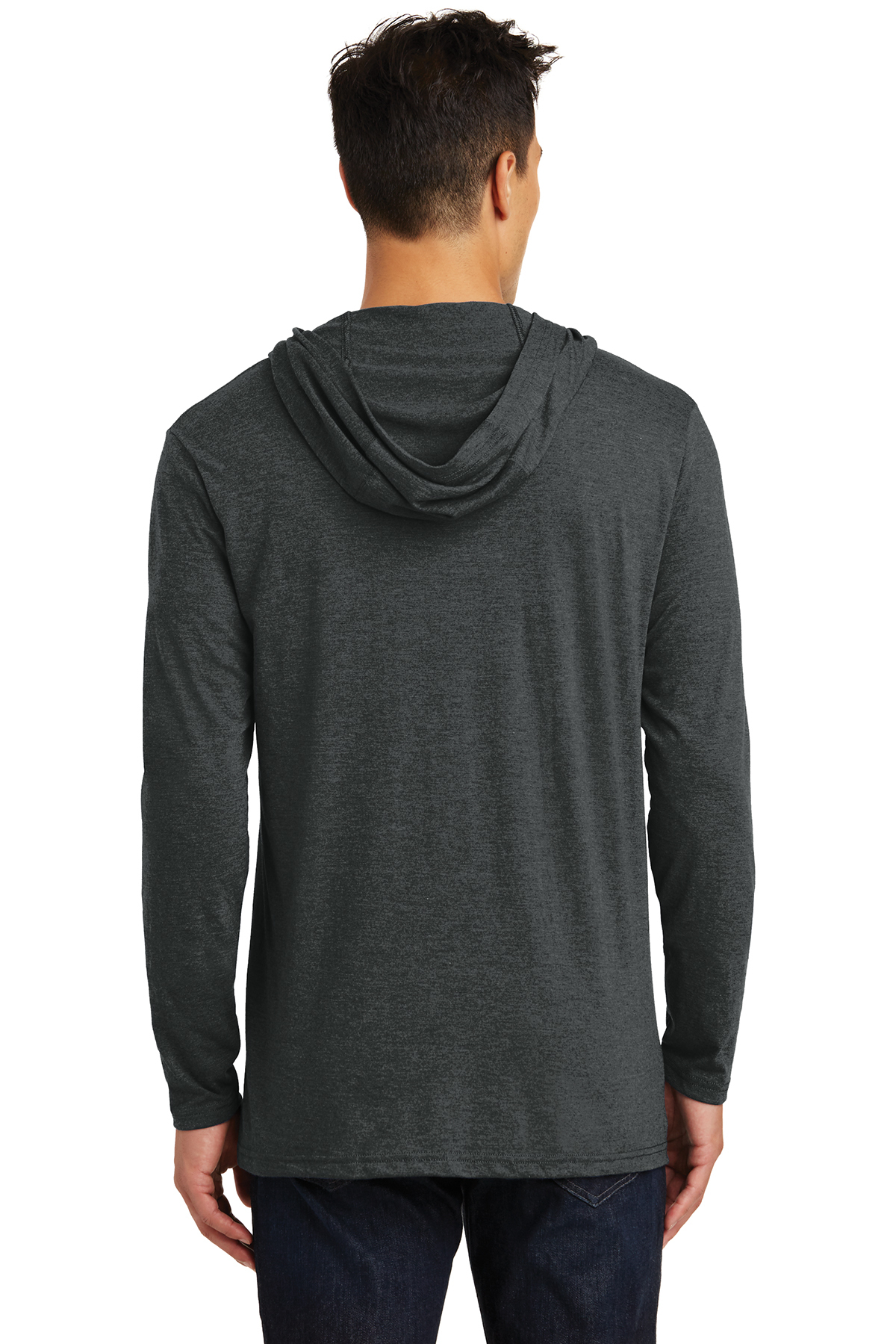 50 50 Outlet >> District ® Perfect Tri ® Long Sleeve Hoodie | Long Sleeve | T-Shirts | SanMar