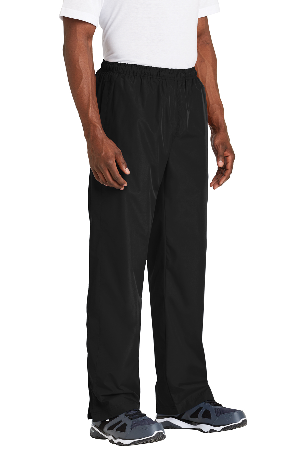 Sport Tek Wind Pant Athletic Warm Ups Activewear Sport Tek The relaxed styling and elastic drawcord waist ensure a comfortable fit. sport tek wind pant athletic warm