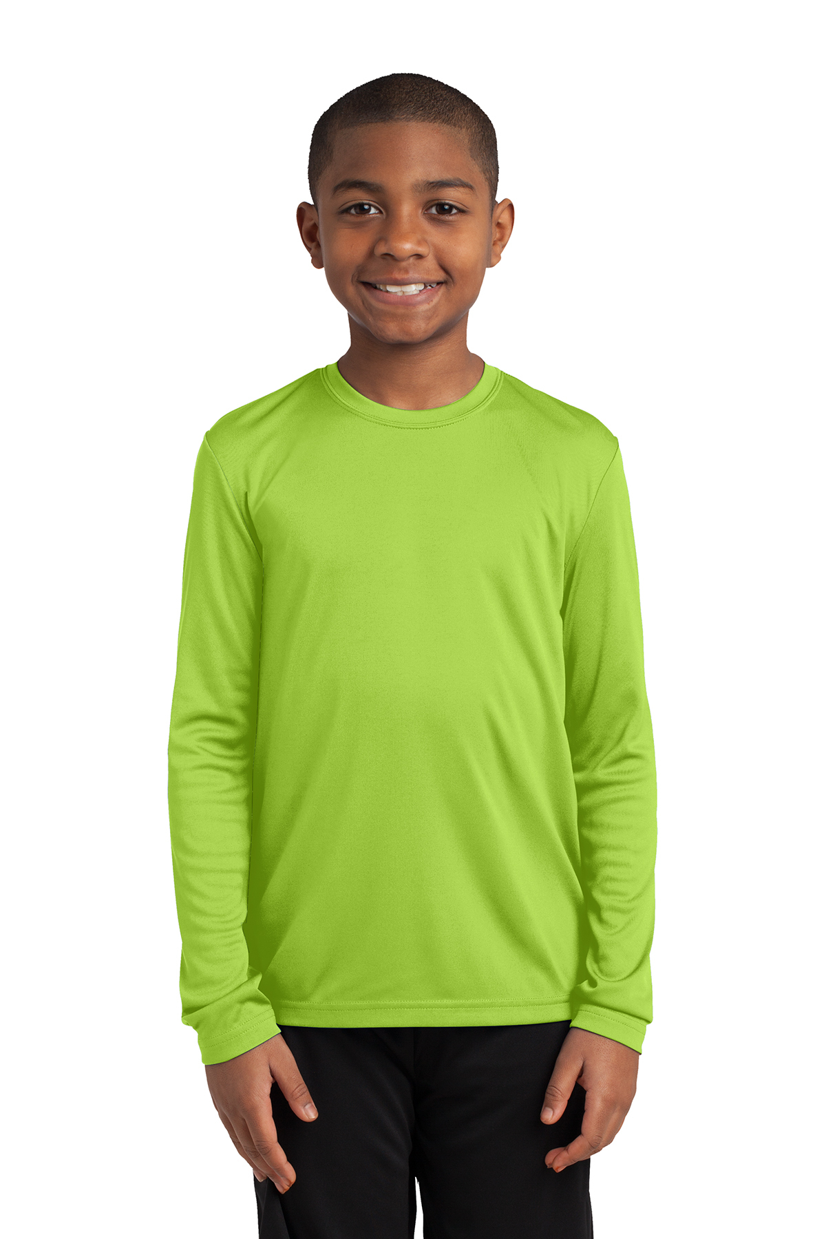 ed4f6908 Sport-Tek® Youth Long Sleeve PosiCharge® Competitor™ Tee   Long ...