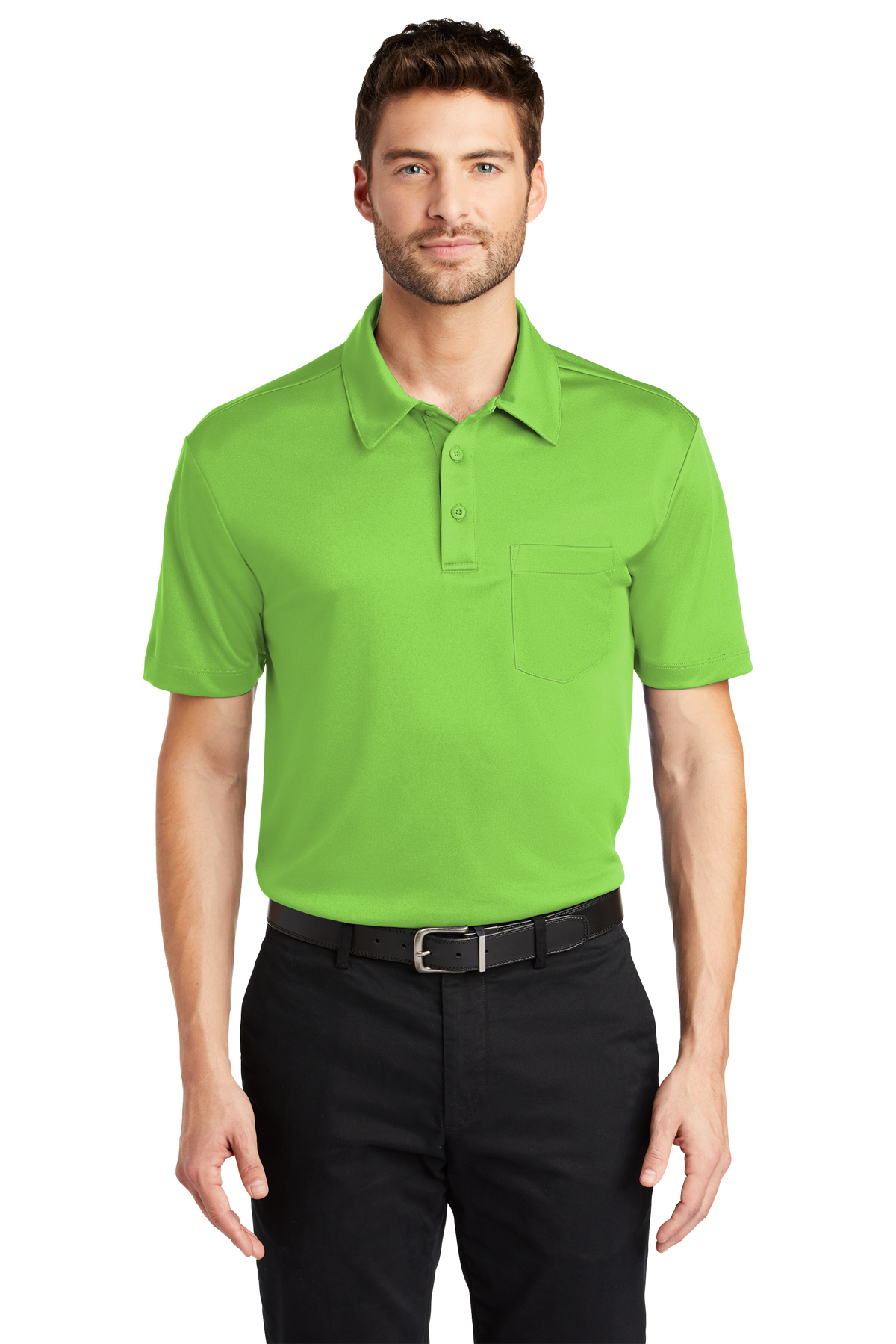 Port Authority Silk Touch™ Performance Pocket Polo | Product | Port ...