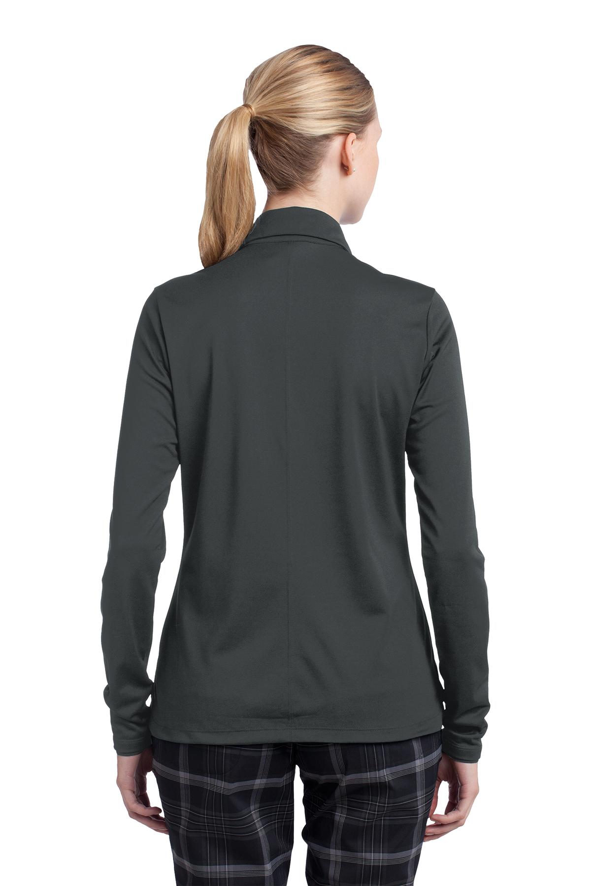 acff89ab89b Nike Ladies Long Sleeve Dri-FIT Stretch Tech Polo   Ladies/Women ...
