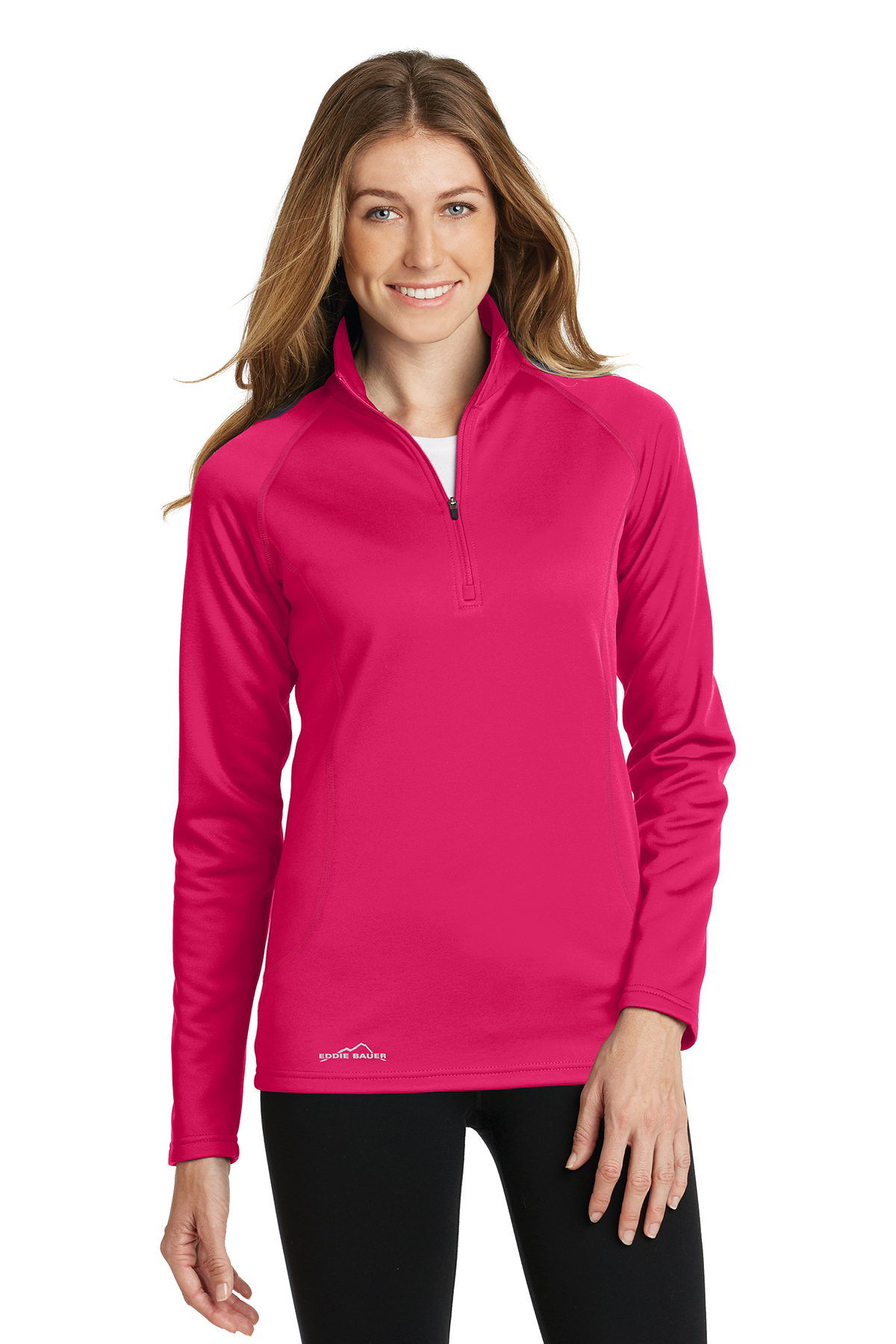 Ed Bauer La s 1 2 Zip Base Layer Fleece